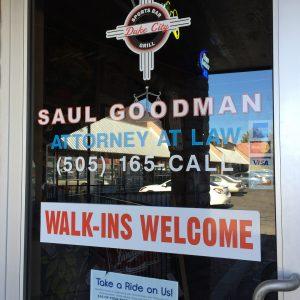 Saul's Office