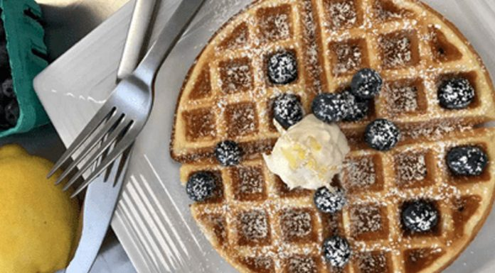 Waffle With Fork