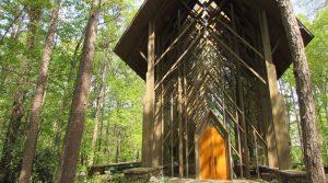 Garvan Woodland Gardens Anthony Chapel