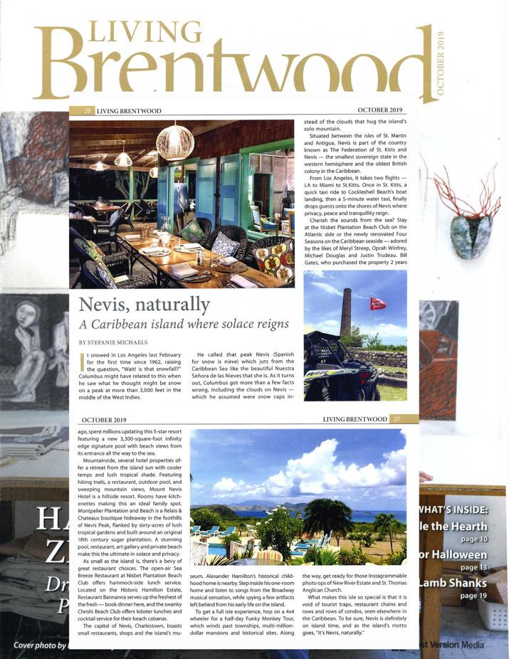 Nevis, naturally